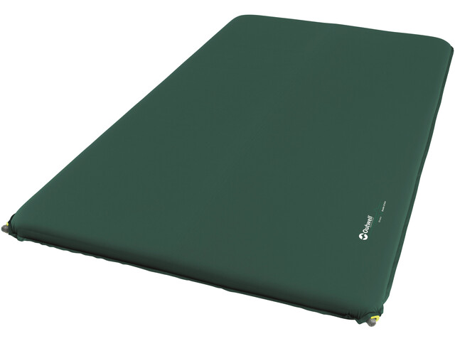 Outwell Nirvana Double Thermo Mat 10cm, dark green